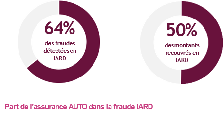 Share of AUTO insurance in property and casualty fraud